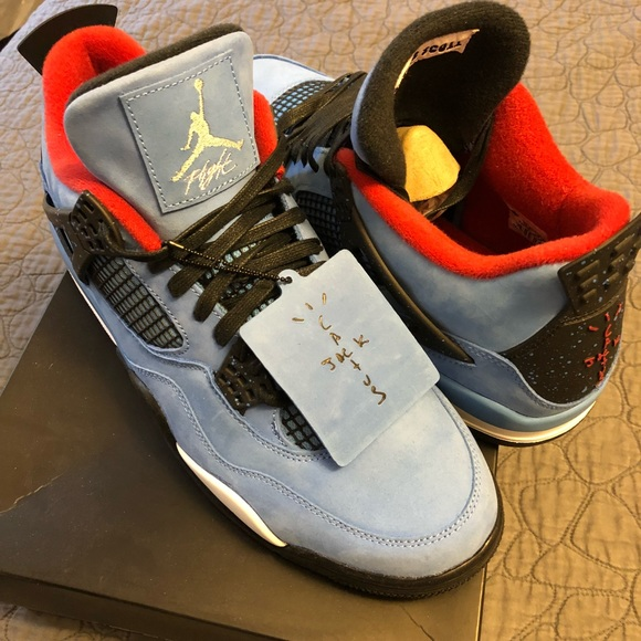 huge selection of c9b9f bdb13 Air Jordan 4's Travis Scott cactus jack size 11